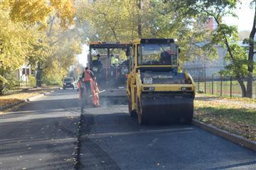 На территории Ульяновска ремонтируют 41 километр автодорог