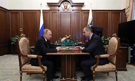 Денис Паслер назначен врио губернатора Оренбургской области