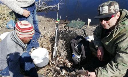 Под Тольятти рыбаки за день поймали больше центнера карася