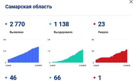 Число жертв коронавируса в области достигло 23 человек