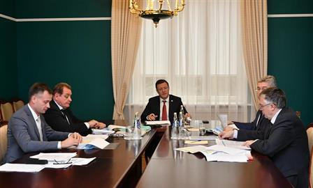 Дмитрий Азаров обсудил с Сергеем Анташевым вопросы формирования бюджета Тольятти