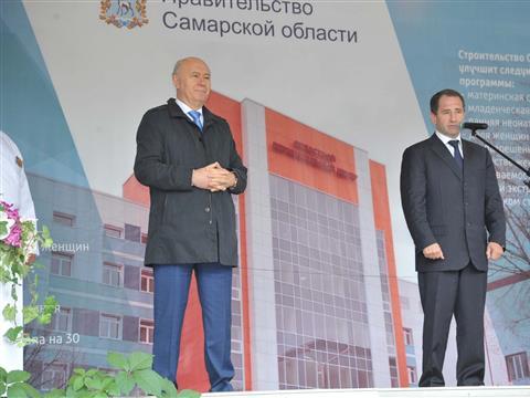 Михаил Бабич и Николай Меркушкин открыли перинатальный центр областной больницы им. Середавина