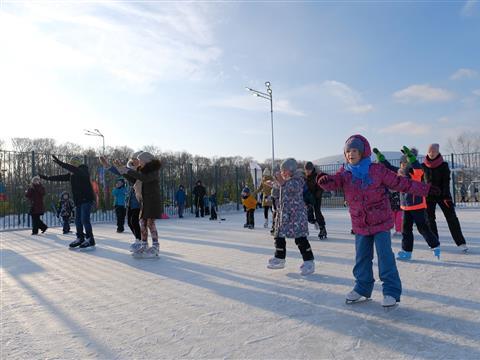 В Самарской Олимпийской деревне прошел день фигурного катания