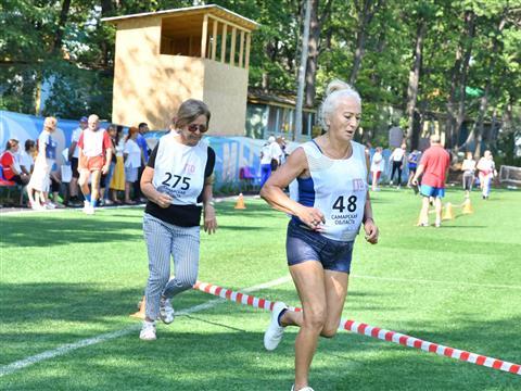 В Красноярском районе прошла областная спартакиада пенсионеров