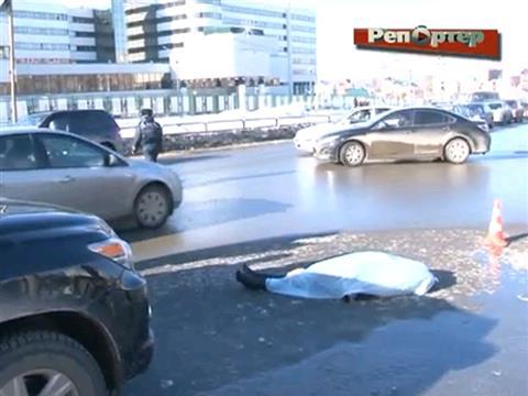 В Самаре водитель автомобиля Lexus сбил двух женщин на пешеходном переходе, одна из них погибла (видео)