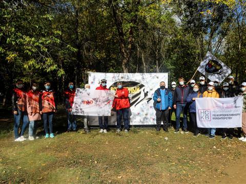 В Самаре корпоративные волонтеры присоединились ко Всемирному дню чистоты