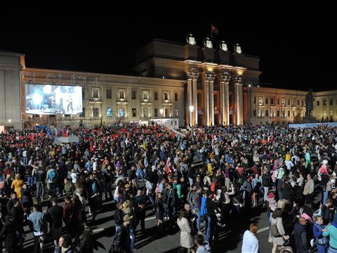 Концерт, посвященный 73-й годовщине Победы в Великой Отечественной войне