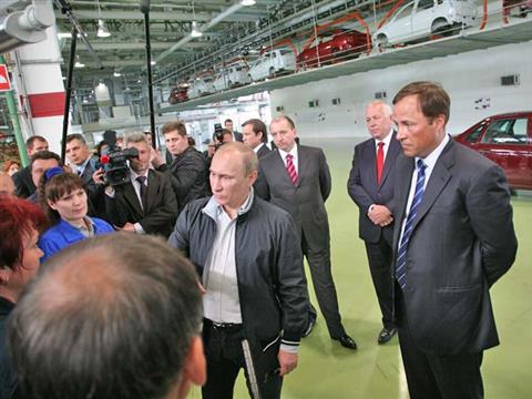 Состоялась встреча Владимира Путина с работниками АвтоВАЗа
