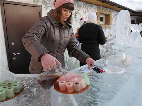 В Тольятти появился ледяной бар