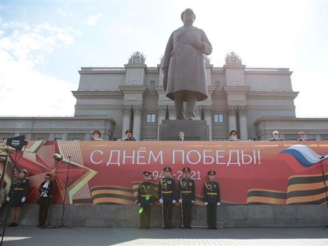 Парад Победы-2021 в Самаре