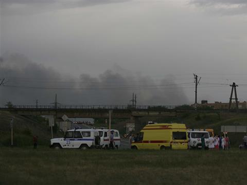 На чапаевском заводе прогремело пять мощных взрывов