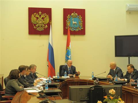Губернатор Николай Меркушкин обозначил ключевые моменты развития нефтехимической промышленности региона