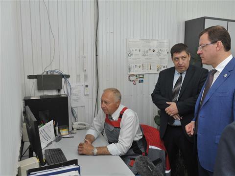 """Глава региона посетил производственную площадку ООО """"Орикс"""""""