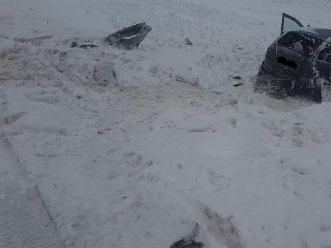 Водитель Lada Kalina потерял в ДТП жену и двоих детей