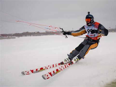 Этап Кубка мира по сноукайтингу в Тольятти