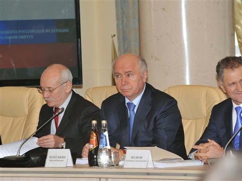 Николай Меркушкин принимает участие в заседании совета ПФО