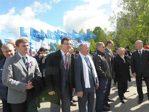 В Самаре Первомай отпраздновали шествием по городу