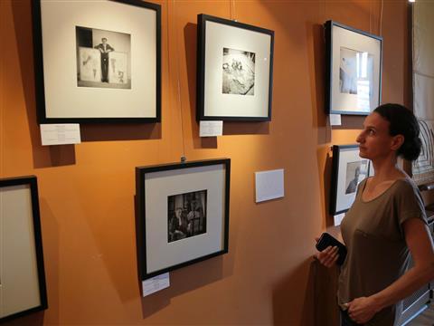 """Выставка Мишеля Сима """"Гении в мастерских. Закулисье парижской арт-сцены"""""""