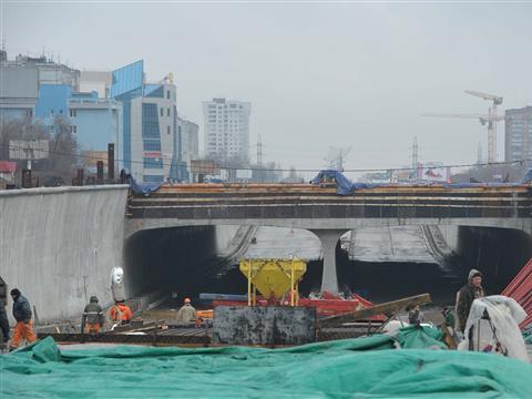 Реконструкция Московского шоссе