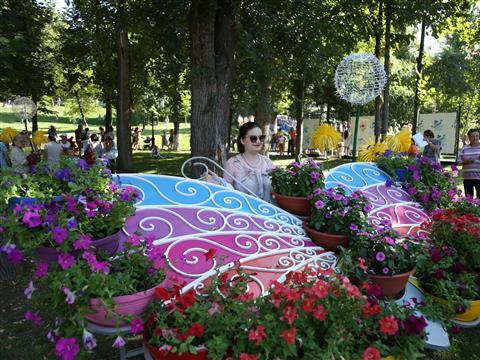 Более 50 тыс. человек посетили Фестиваль цветов в Самаре