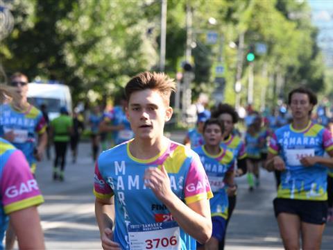 Второй открытый самарский легкоатлетический марафон на Кубок главы города Самара