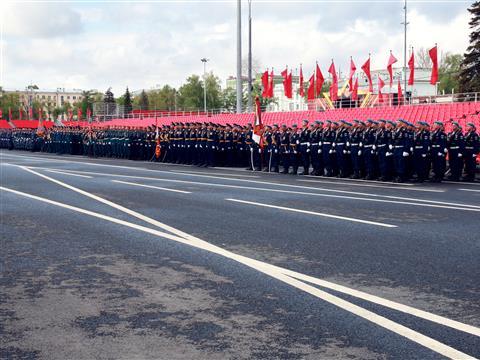 В Самаре прошла генеральная репетиция военного парада