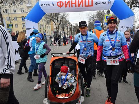 """""""Космический забег"""" стартовал в Самаре"""