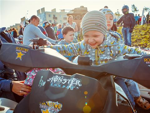 В Крутых Ключах прошел грандиозный праздник, посвященный Дню защиты детей