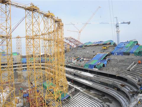 """В июне на стадионе """"Самара-Арена"""" начнется устройство футбольного поля"""