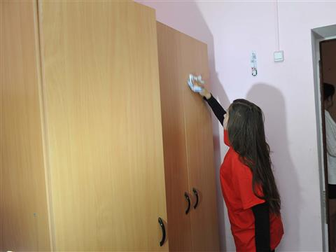 Самарские волонтеры провели благотворительную акцию в детском доме №1