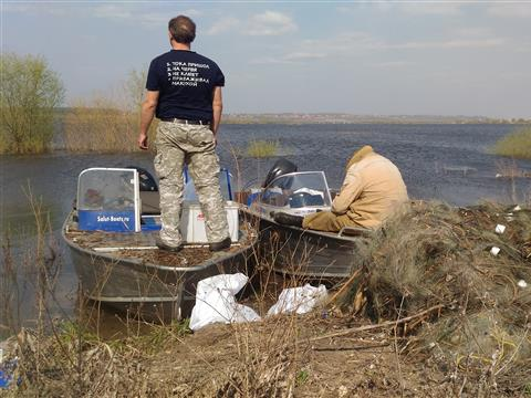 На реках Самарской области проводятся антибраконьерские рейды