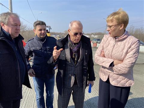 В Самаре начали ремонтировать Смышляевский мост