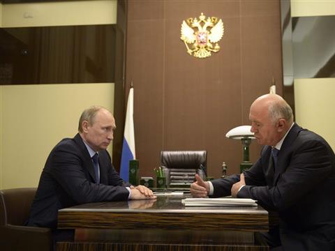 Владимир Путин одобрил желание Николая Меркушкина участвовать в выборах