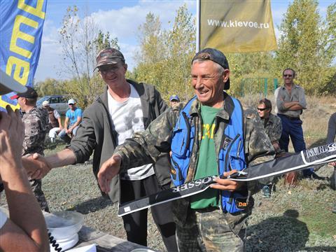 На Самарской Луке прошли осенние соревнования по спиннинговой рыбалке