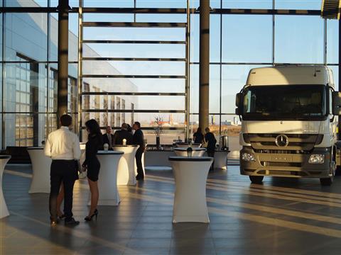 Около села Зеленовка открылся крупнейший дилерский центр по продаже, обслуживанию и ремонту грузовых автомобилей и пассажирского транспорта Mercedes-Benz