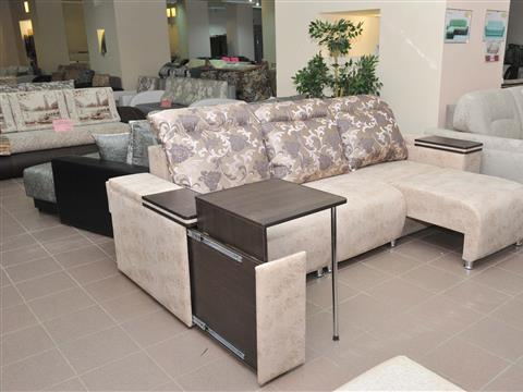 В салонах мебели Ларисы Кудряшовой представлен широкий ассортимент мягкой мебели