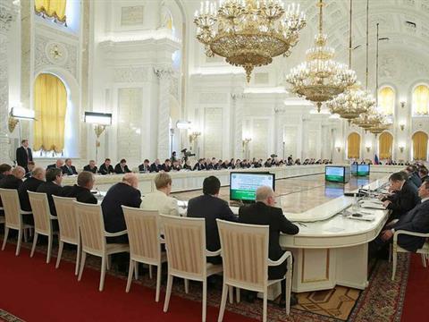 Заседание Государственного совета и Совета при президенте по реализации приоритетных национальных проектов и демографической политике 21 апреля 2014 года