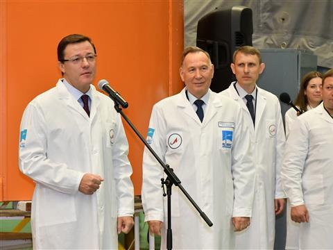 """С РКЦ """"Прогресс"""" на космодром Восточный была отправлена ракета-носитель """"Союз-2-1б""""."""