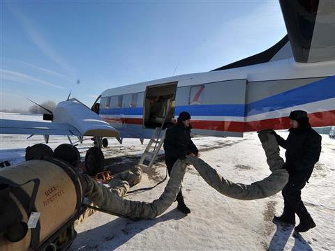 """Самолет """"Рысачок"""" отправят на сертификационные испытания в Подмосковье"""