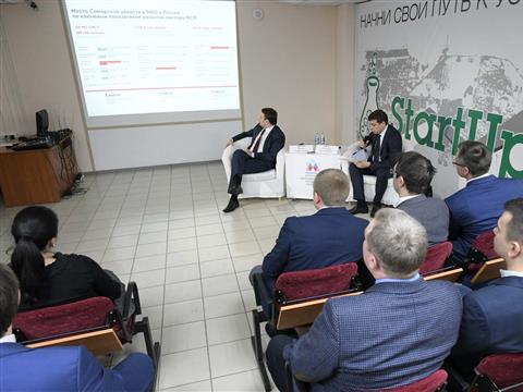 Максим Орешкин провел встречу с представителями малого и среднего бизнеса Тольятти