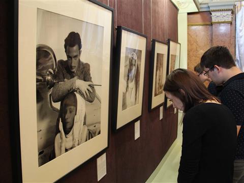 Россия в объективе модных фотографов на выставке Russia in Vogue