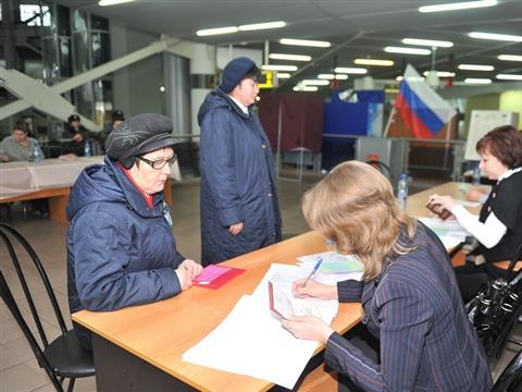 На ж/д вокзале в Самаре работает избирательный участок
