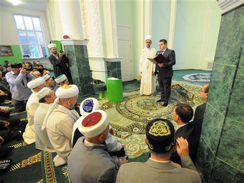 Самарские мусульмане отмечают праздник Ураза-байрам