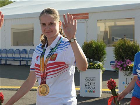 Анна Мастянина стала призером Универсиады-2013 в стрельбе в личном зачете