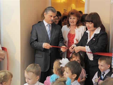 В Промышленном районе Самары состоялось открытие двух дополнительных групп в детском саду №373 на 40 ребят