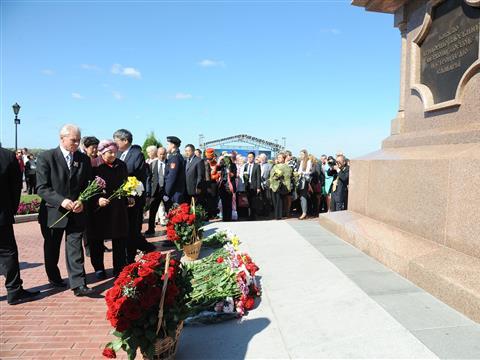 Жители Самары отмечают День города