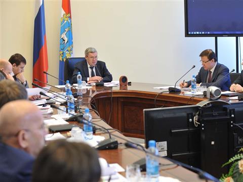 Александр Нефедов провел совместное заседание координационного совета по развитию самарско-тольяттинской агломерации