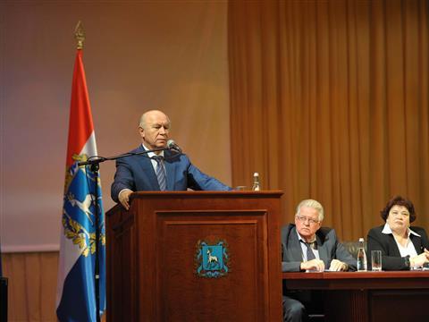 Николай Меркушкин встретился с жителям Красноглинского района Самары