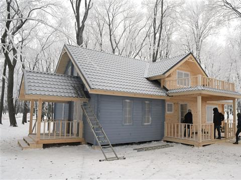 Дом для снегурочки