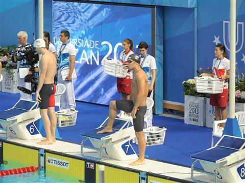 Тольяттинец Андрей Тамбовский попал в полуфинал Универсиады-2013 на 200 м баттерфляем